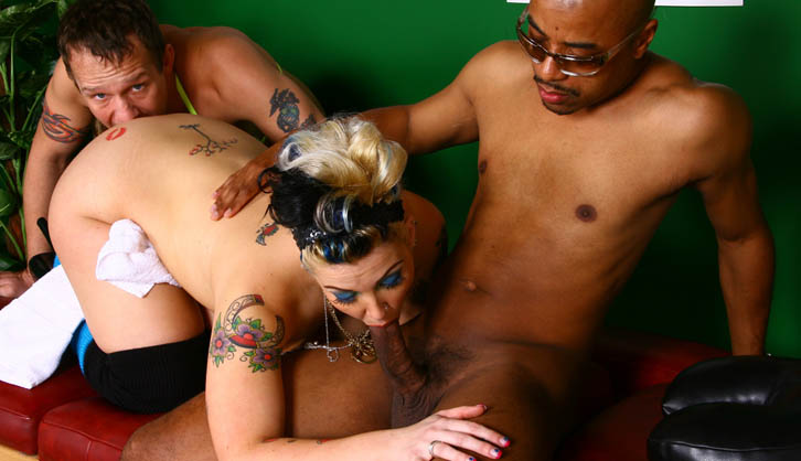 Candy Monroe - Interracial Cuckold Queen! - Broc Adams